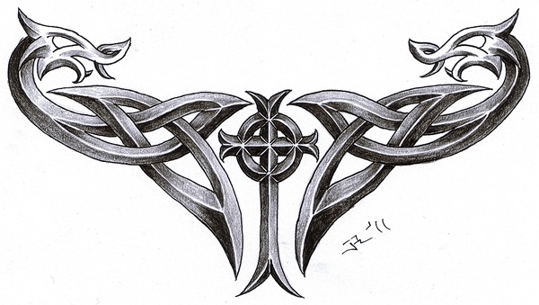 celtic dragons...would make nice tattoo
