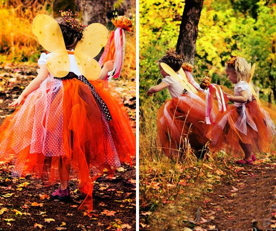 Fall Fairy Costume | Click for 30 DIY Halloween Costumes for Kids to Make | DIY Halloween Costumes for Toddlers