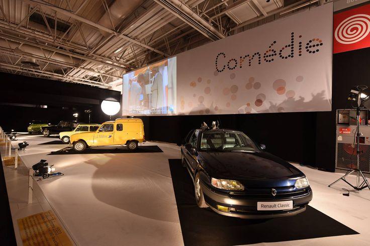 """L'exposition du Mondial de l'Automobile à ne pas manquer : """"Moteur ! L'automobile fait son cinéma"""".  Espace d'exposition dédié aux Comédies  RDV Hall 8 jusqu'au 16 Octobre !"""