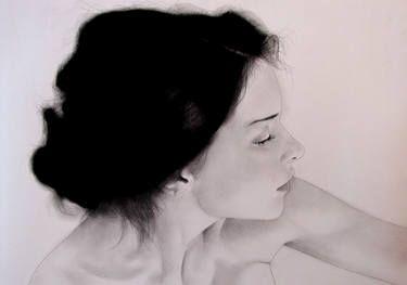 "Saatchi Art Artist Franco Fusari; Drawing, ""Portrait #G931"" #art"