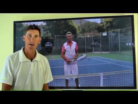 Daily Tennis Lesson - Poaching Technique - lesson#1