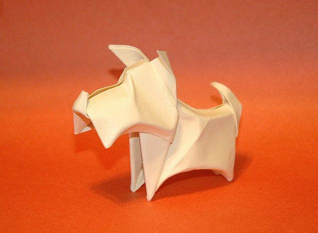 Оригами маленький торт