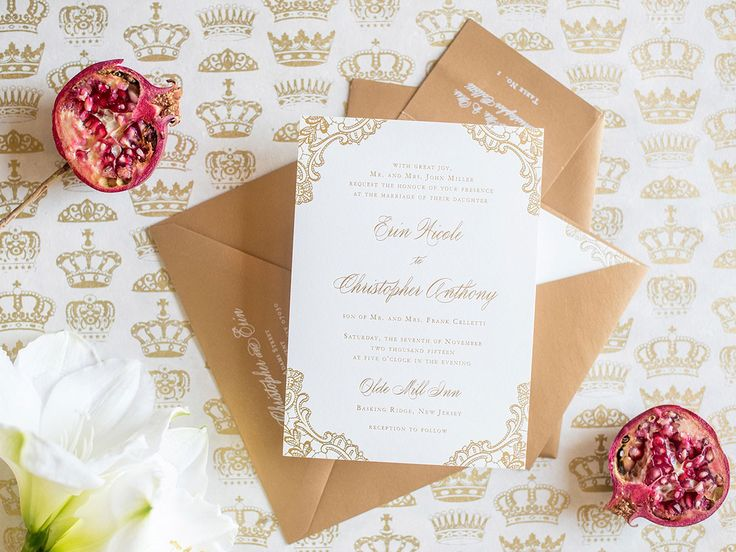 Check out our guide to addressing wedding-invitation envelopes correctly and according to etiquette.