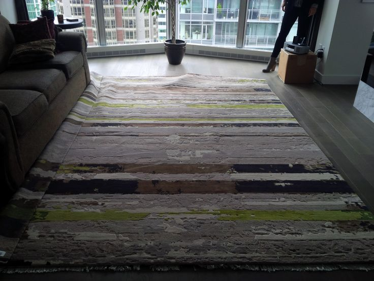 Another view of the Colin Campbell rug at my place.