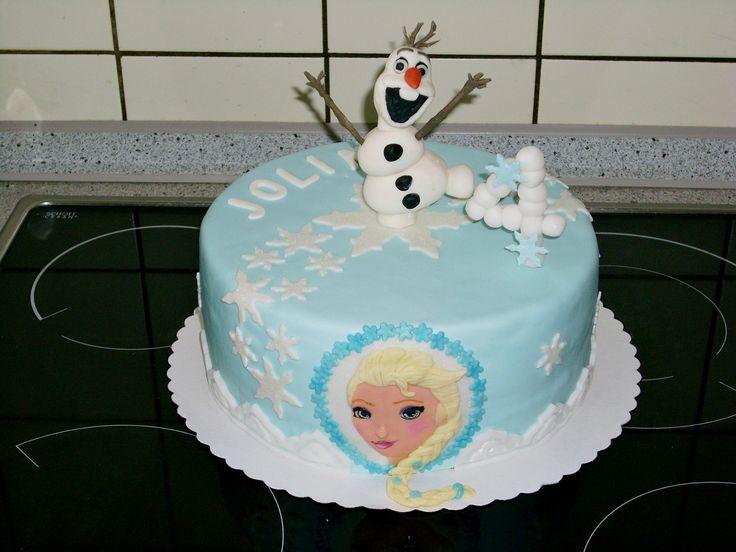 D Olaf Cake