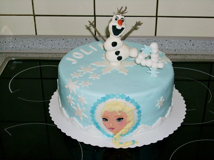 frozen cake elsa olaf die eisk nigin meine torten pinterest elsa frozen and frozen cake. Black Bedroom Furniture Sets. Home Design Ideas