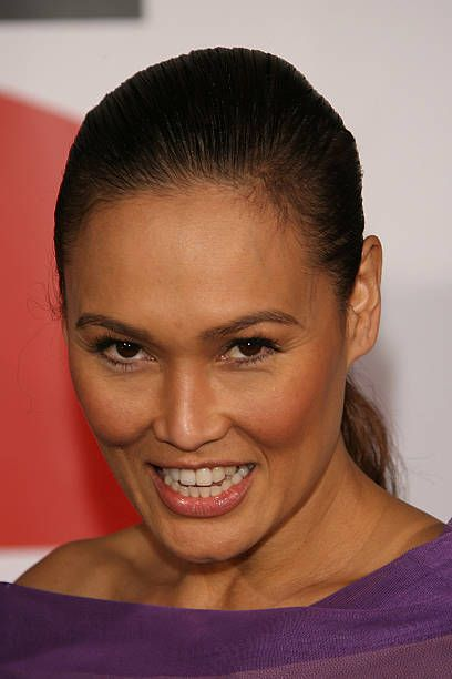 Tia Carrere during 'The Shaggy Dog' movie premiere at El Capitan Theater in Hollywood California United States