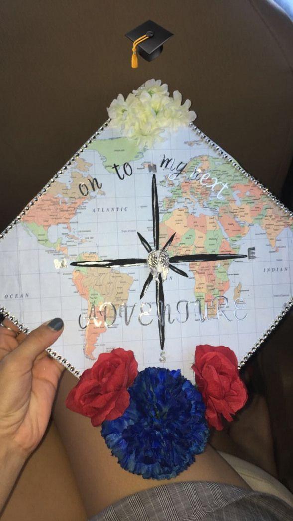 Graduation cap #highschoolgraduation #high #school #graduation #pics