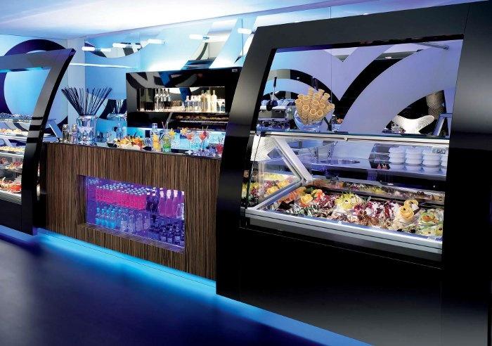 Frame by ISA www.isaitaly.com #arredamento  #interior #design #bar #gelaterie #pasticcerie #gelato #dolci
