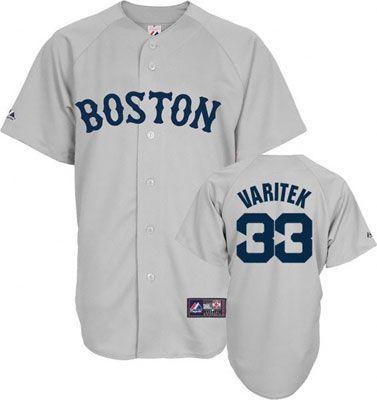 da04ca83 Boston Red Sox Jason Varitek 33 Grey Replica Jersey Sale ...