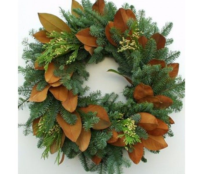 14 best Real & Natural Christmas Wreaths images on Pinterest ...