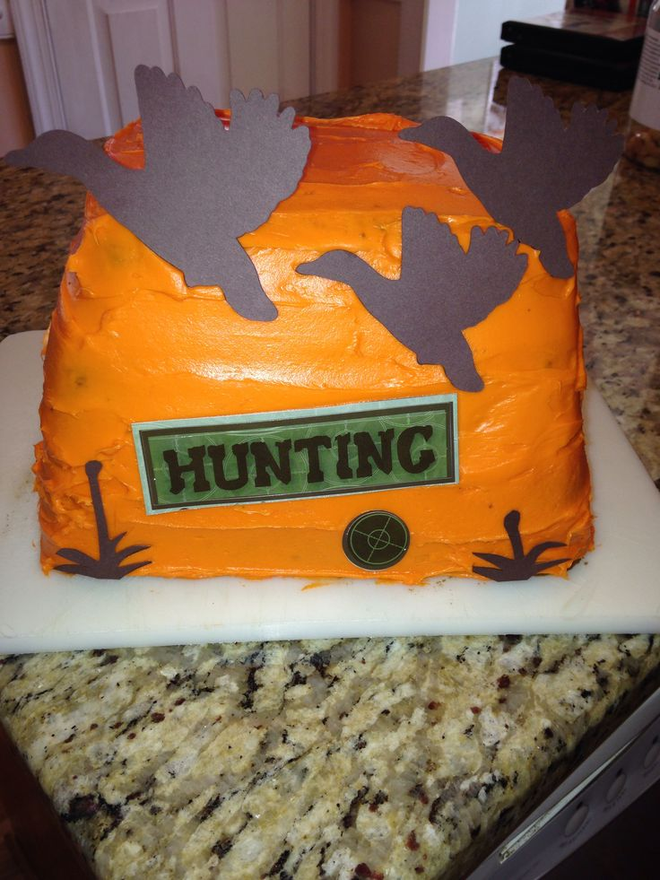 21 best Walkers Birthday Cake images on Pinterest Duck hunting