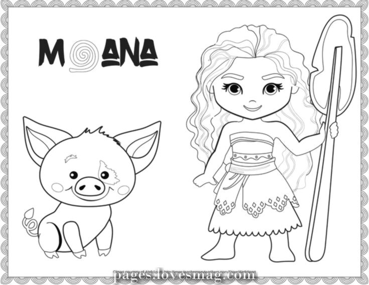 The Best Unique Free Disney Moana Printable Coloring Disney Coloring Pages Moana Coloring Moana Coloring Pages