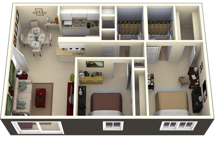Planos de casas 3d - Buscar con Google