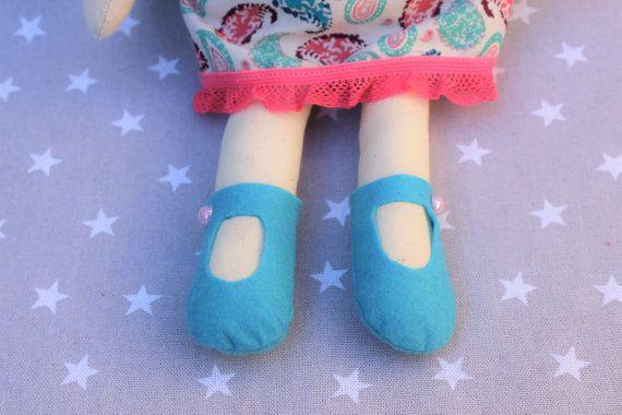 Muñeca Laura muñeca niña juguetes regalo personalizado por Pittitus