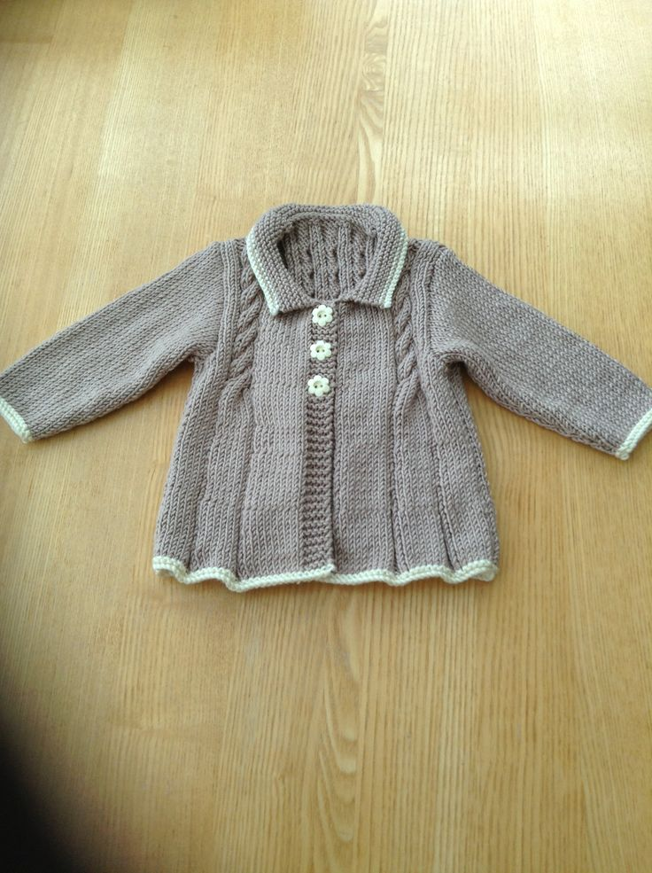 Vintage jacket for Isla (front)