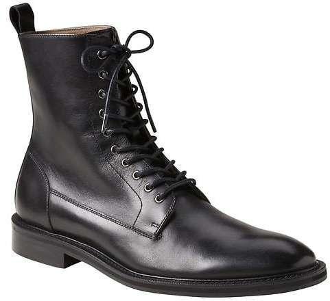 Maddox Lace-Up Dress Boot