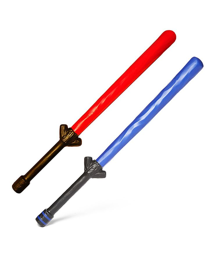 Blue & Red Foam Long Swords