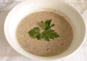 Cream of Mushroom Soup – Low Calorie 5:2 Diet Recipe