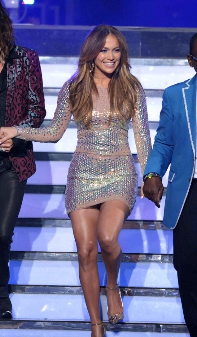 """Jennifer Lopez in Blumarine — """"American Idol"""" Season 11 Finale Results Show"""
