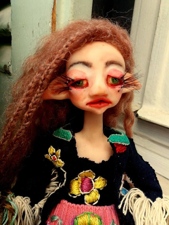 Elena/hippiegirl/matalagirl/Kauai/crete/doll/artdoll/polymercl