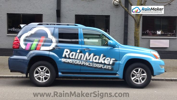 RainMaker-Signs-SUV-Vehicle-Wrap www.rainmakersigns.com