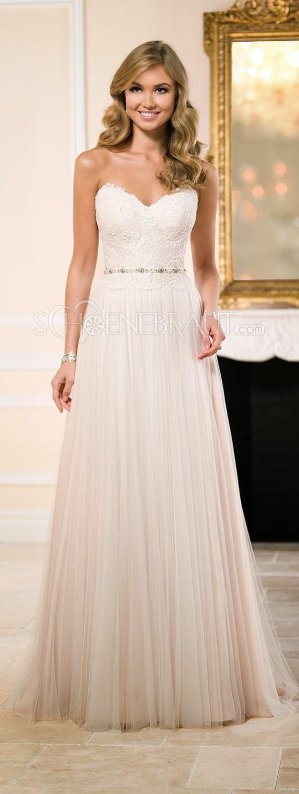 Empire Trägerlos Herzförmig Ausschnitt Korsage Netzwerk Brautkleid Hochzeitskleid Sweet Heart Süßes Herz [#UD9119] - schoenebraut.com