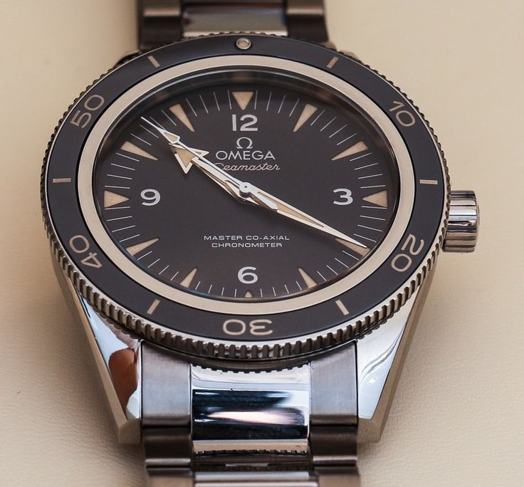 Omega Seamaster 300 Master Co-Axial Watch Hands-On