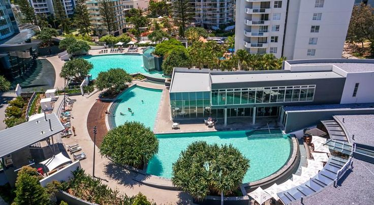 AUD 212 Q1 Resort & Spa's beachside observation deck rises 230 metres above Surfers Paradise, with 360° views over the Gold Coast hinterland, Pacific Ocean and...