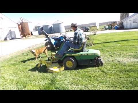 John Deere F525 lawn mower for sale | no-reserve Internet