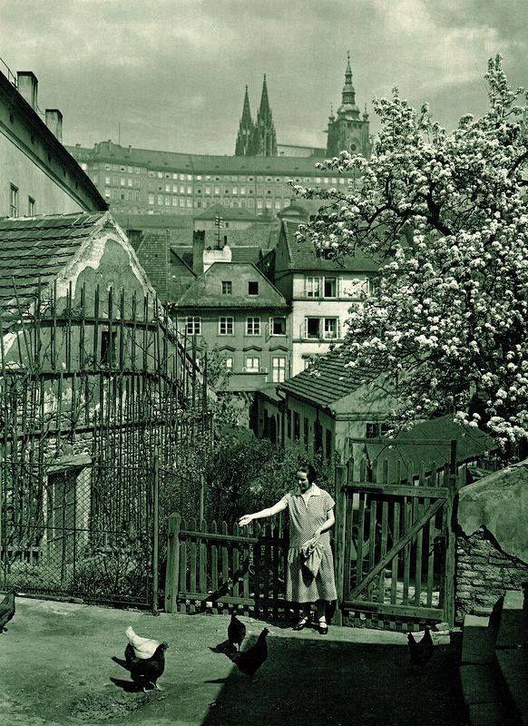 Praha v roce 1931 (foto Jan Posselt)