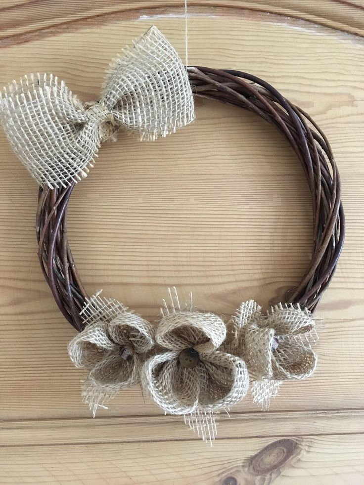 A personal favourite from my Etsy shop https://www.etsy.com/uk/listing/515665282/rattan-handmade-wreath-with-burlap