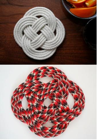 knot trivet tutorial