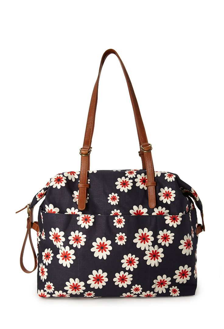 Daisy Doll Weekend Bag | FOREVER21 #F21FreeSpirit #Accessories #Floral