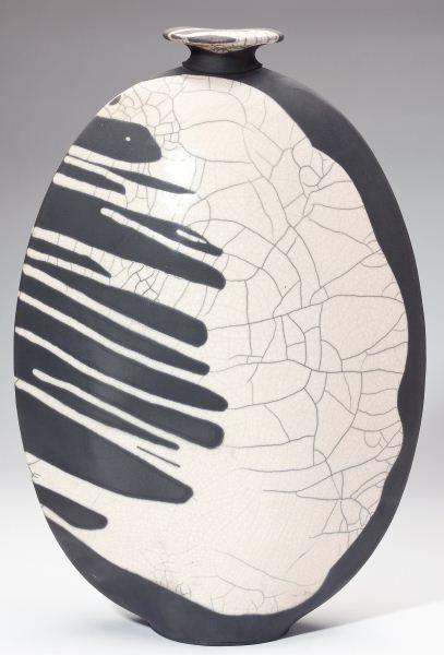 Joe Winter Raku pottery