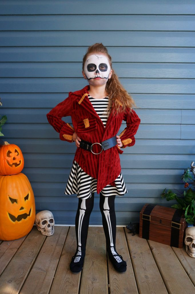 Skeleton Pirate Halloween Costume | Hello Clover