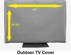 46″ Outdoor TV Cover (Soft Non Scratch Interior fits 46″-some 50″ by The Original TV Coverstore  http://www.60inchledtv.info/tvs-audio-video/television-accessories/tv-screen-protectors/46-outdoor-tv-cover-soft-non-scratch-interior-fits-46some-50-com/