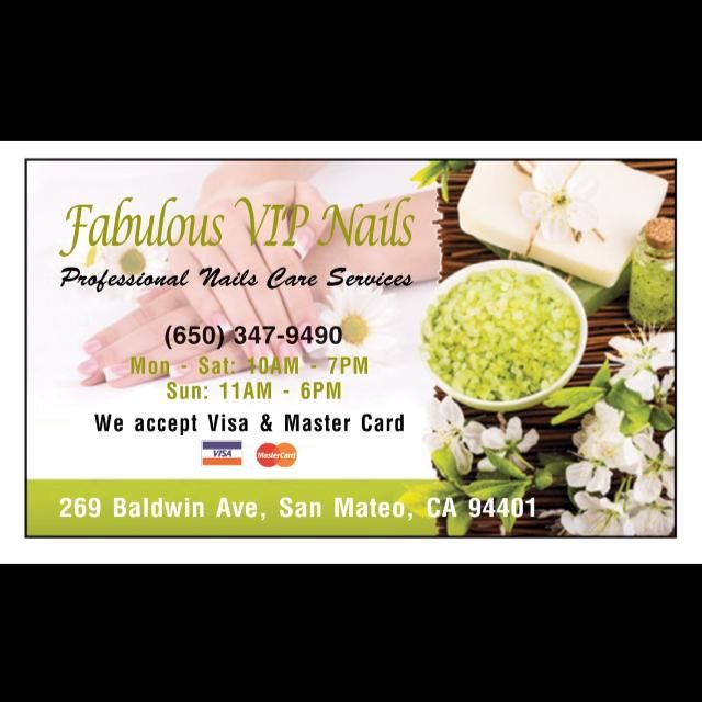 Fabulous VIP Nails - Nail Salon in San Mateo, California