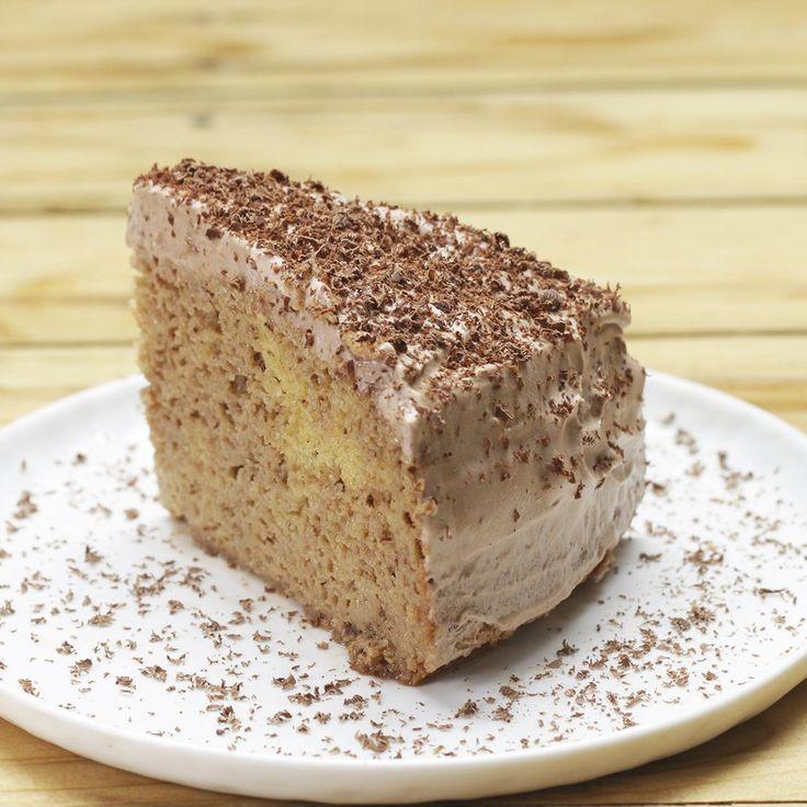 The Recipe Pastel 3 leches de chocolate - World Recipes Chocolate Paleo, Chocolate Cake Video, Mexican Chocolate Cakes, Fun Baking Recipes, Fudge Recipes, Cake Recipes, Bien Tasty, Nutella Fudge, Mexican Dessert Recipes