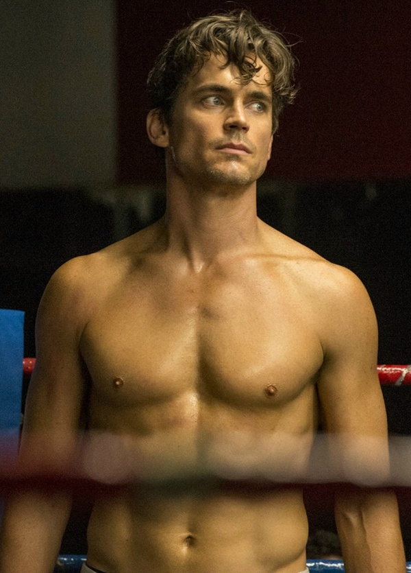 Matt Bomer as Neal Caffrey in White Collar in the episode Gloves Off. And whoo... that scene was intense.