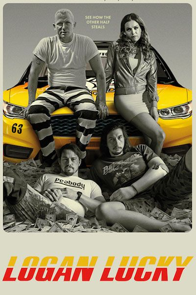 You Must See How #Daniel_Craig Looks Like in The #First #Trailer for #Logan_Lucky !
