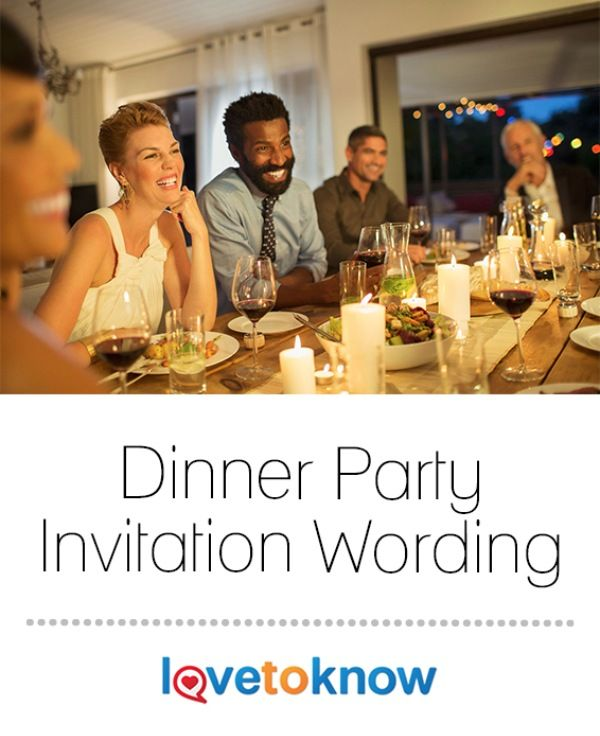 17 best ideas about dinner party invitations on pinterest