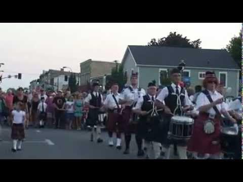 Mass Band Parade, Kincardine Ontario - YouTube