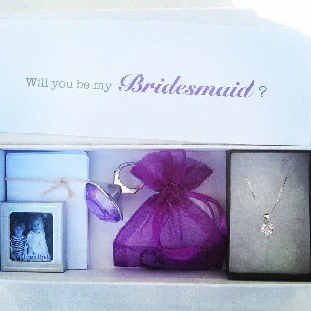 Will you be my bridesmaid? gift