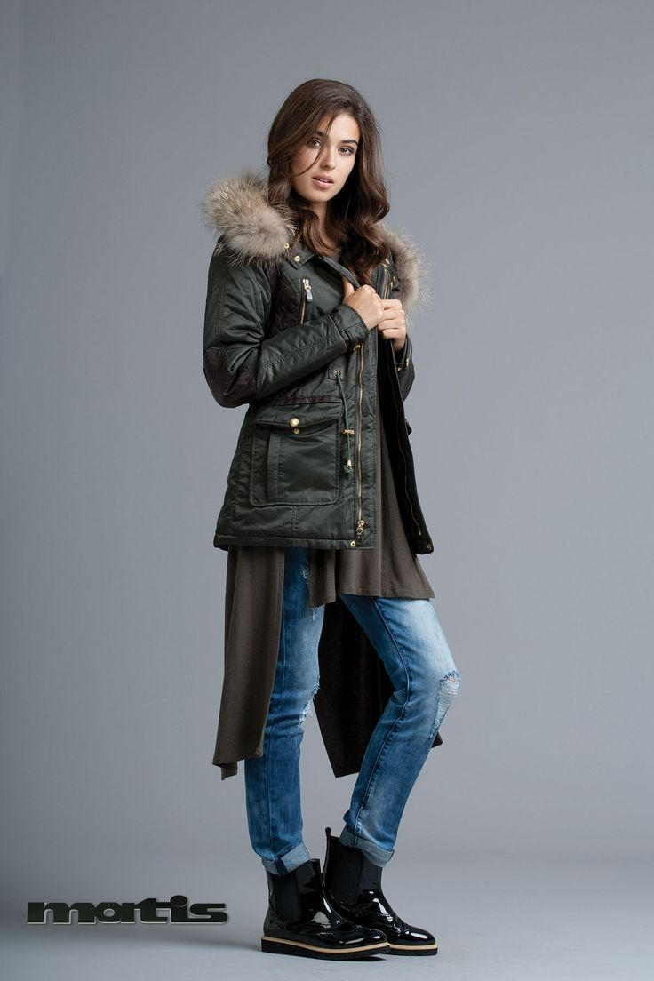 Tackle the winter freeze with a stylish and warm parka!