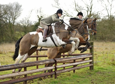 Autumn hunting - The Worcestershire Hunt