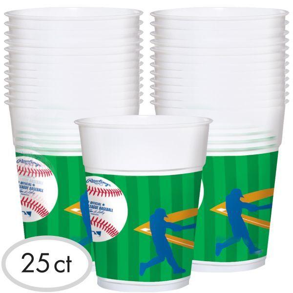 Rawlings Baseball Plastic Cups 25ct