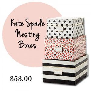 Kate Spade Nesting Boxes Are One Of Our Best Selling Products. Check All Of  Our. Stylish OfficeOffice StyleGirl ...