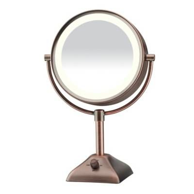 Product Image for Conair® Variable Lighted 1X/10X Mirror in Oil Rubbed Bronze 2 out of