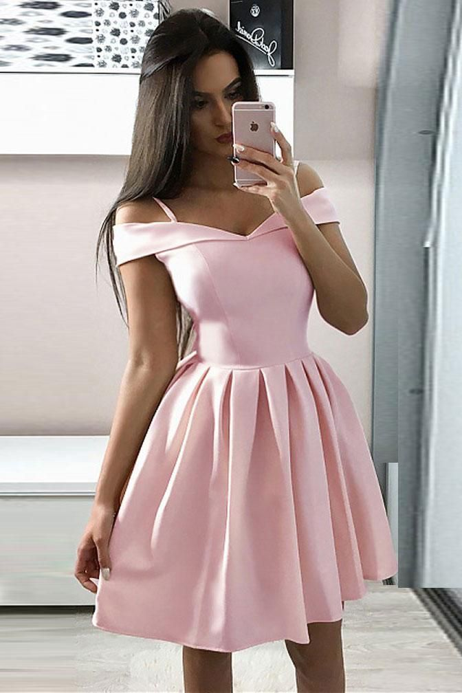 21++ Baby pink homecoming dresses ideas
